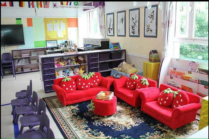 幼儿园小班建构沙发图片